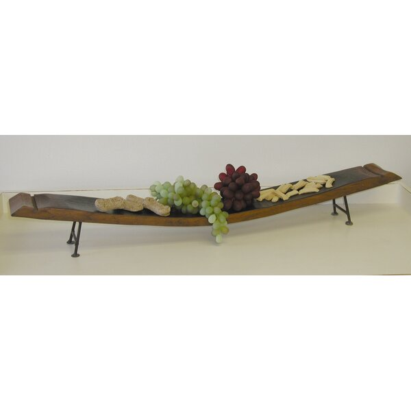 Wine Stave Platter by 2 Day Designs, Inc