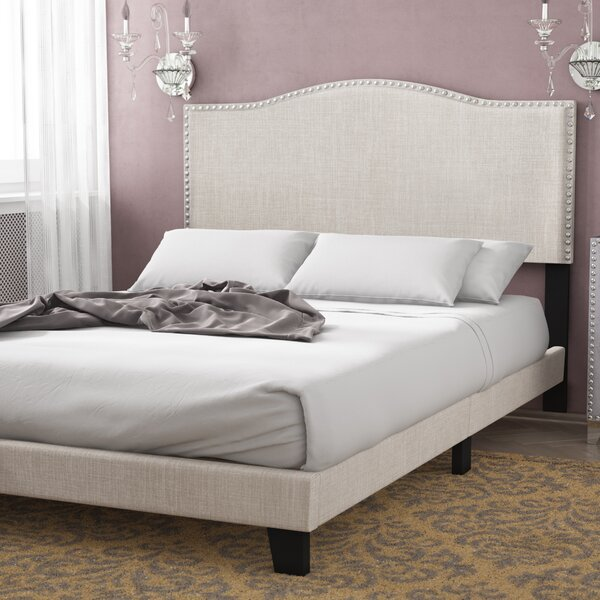 Upholstered Standard Bed by Willa Arlo Interiors