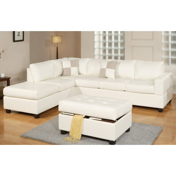 Tamra Sectional with Ottoman by Ivy Bronx