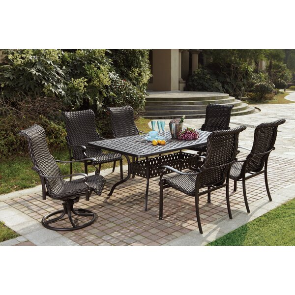 Kentland 7 Piece Dining Set by Darby Home Co