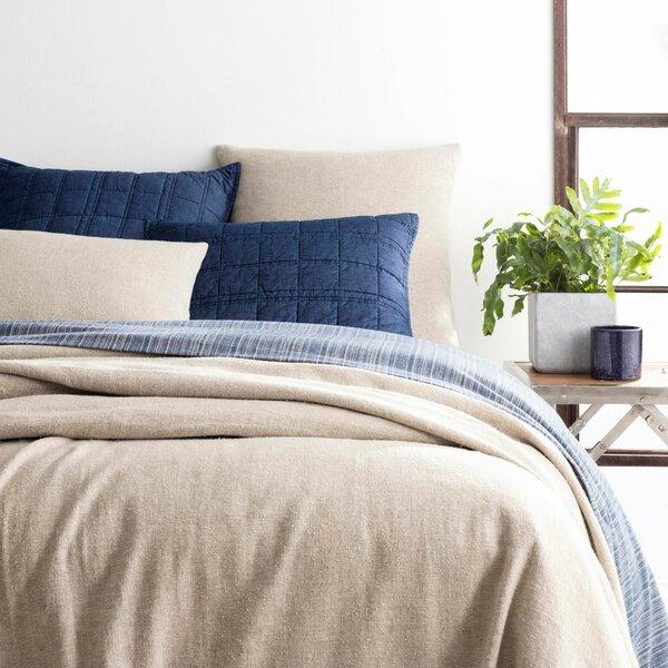 Noah Linen Bedspread Single Coverlet