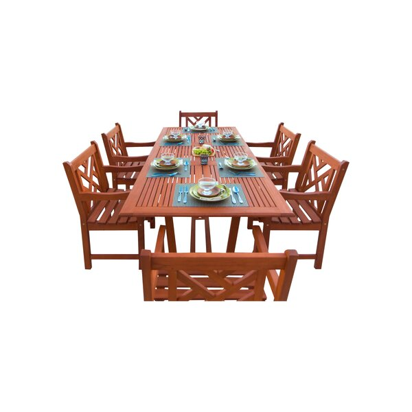 Blythe 7 Piece Dining Set by Breakwater Bay