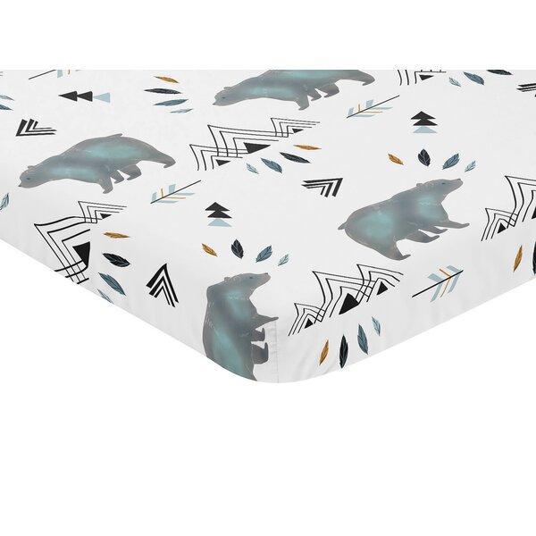 Bear Mountain Fitted Crib Sheet by Sweet Jojo Designs