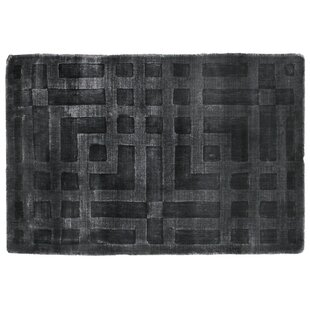 Price Check Hazel Hand-Woven Dark Gray Area Rug By Exquisite Rugs