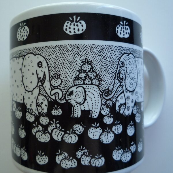 Primitives 11 oz. Elephant Mug by Taylor & Ng