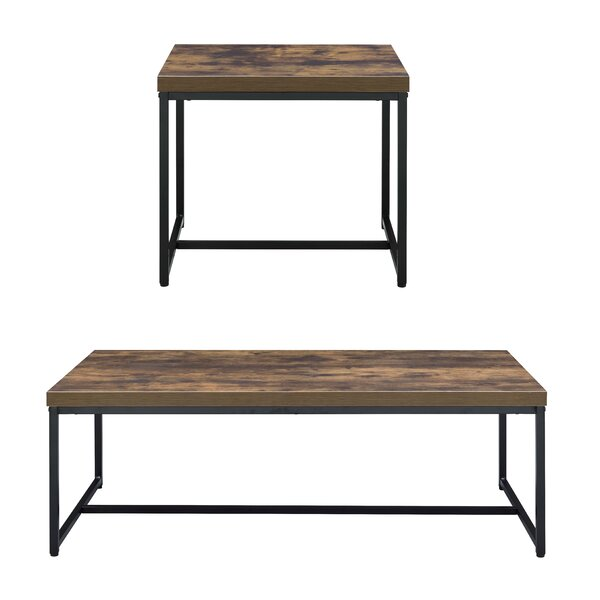 Cerie 2 Piece Living Room Table Set by Foundry Select Foundry Select