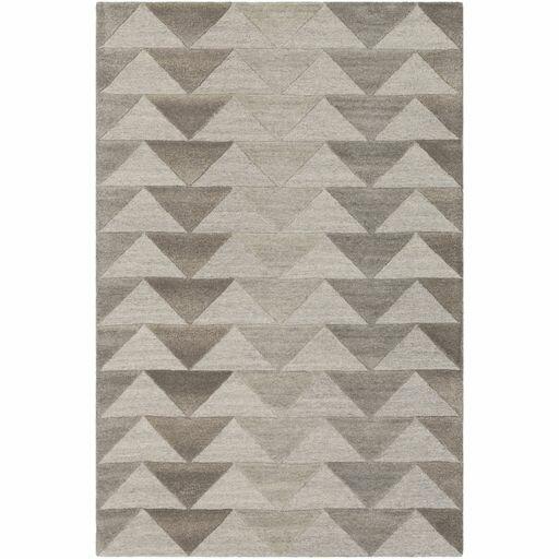 Beatrice Hand-Tufted Medium Gray/Light Gray Area Rug by Langley Street