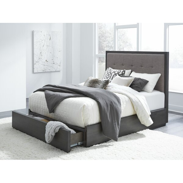 Paralimni Upholstered Storage Bed by Wrought Studio