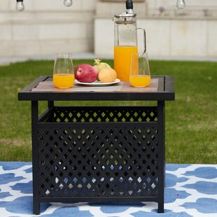 Sartor Metal Side Table by Charlton Home