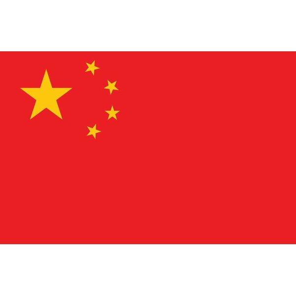 China Nylon 3 x 5 ft. Rectangle Flag by U.S. Flag Store