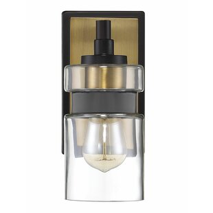 Reviews Vihaan 1-Light Armed Sconce By Wrought Studio