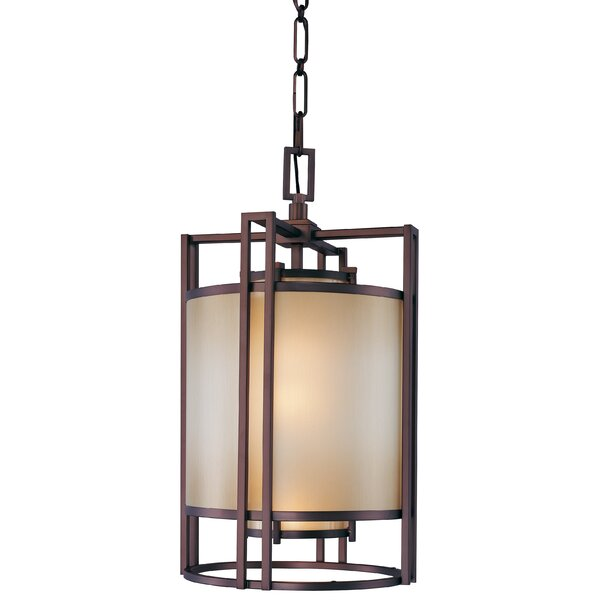 Underscore 3-Light Square/Rectangle Chandelier by Metropolitan by Minka