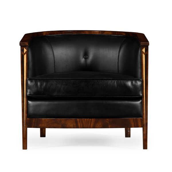 Barrel Barrel Chair by Jonathan Charles Fine Furniture