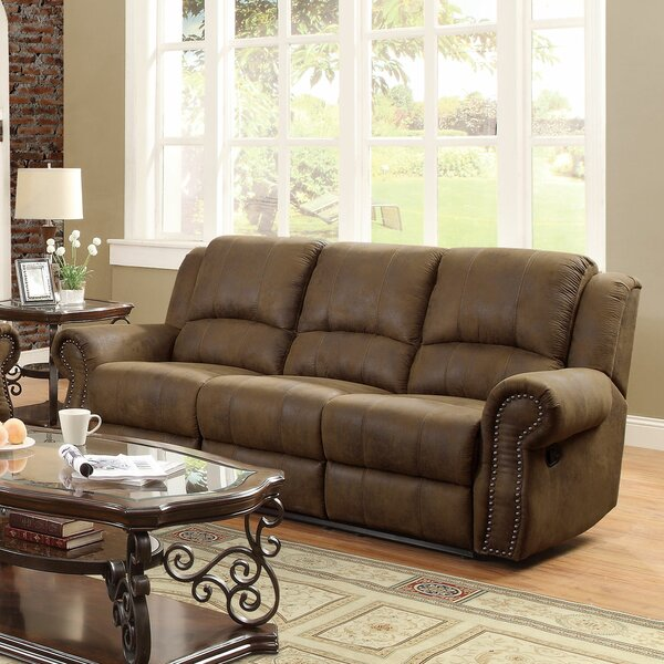 Highest Quality Chamlee Reclining Sofa by Darby Home Co by Darby Home Co
