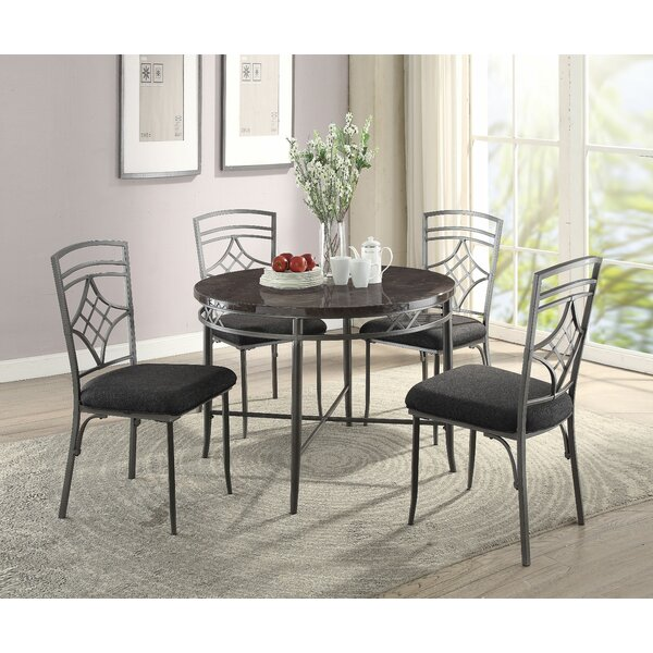 Temperley 5 Piece Dining Set by Red Barrel Studio