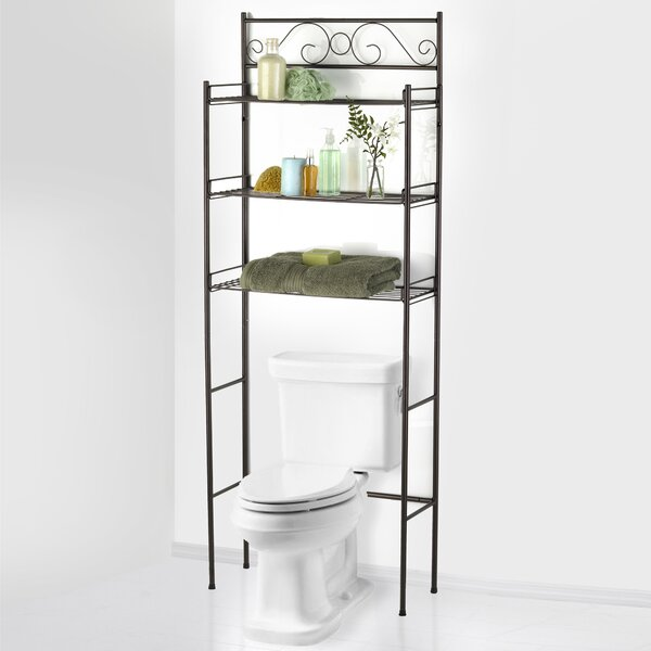 Moutanabi Scroll 24.75 W x 65.5 H Over The Toilet Storage