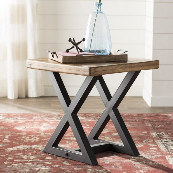 Aguiar End Table by Williston Forge