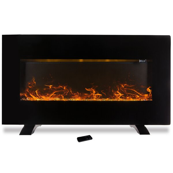 Heater Wall Mounted Electric Fireplace by Della