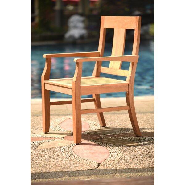 Osborne Folding Teak Patio Dining Chair by Teak Smith
