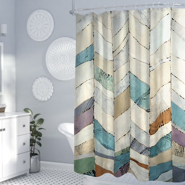 Monro II Shower Curtain by Zipcode Design