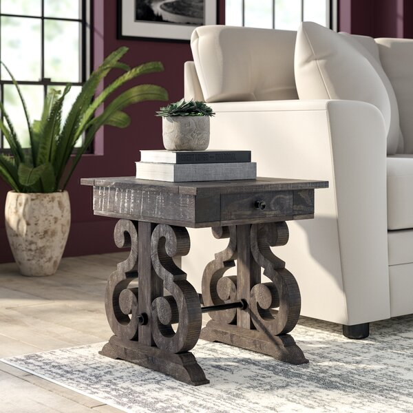 Ellenton End Table With Storage By Greyleigh