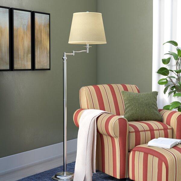 Hulings 65.5 Swing Arm Floor Lamp by Andover Mills
