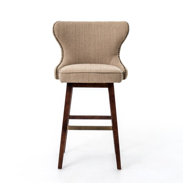 Tory 30 Swivel Bar Stool by Design Tree Home