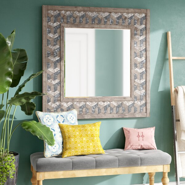 Theodis Accent Mirror by Bungalow Rose