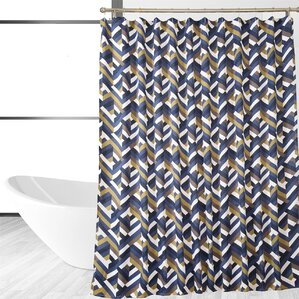 Chevron Shower Curtains chevron shower curtains you'll love | wayfair