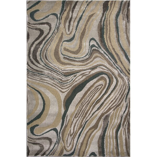 Timeless Silver Wood Grains Area Rug by Donny Osmond Home