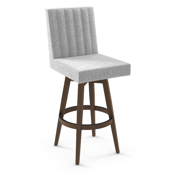 Gena Bar & Counter Swivel Stool by Brayden Studio