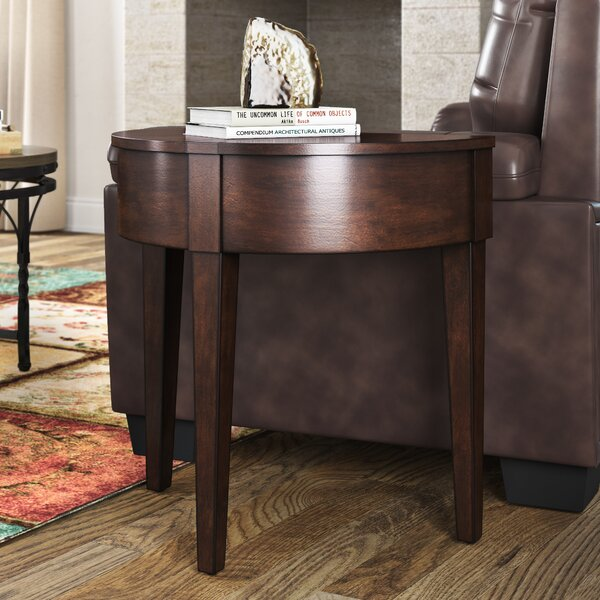Kimzey Chairside Table by Ebern Designs