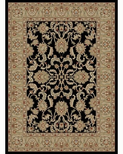 Ankara Oushak Black Rug by Threadbind