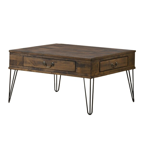 Savala Coffee Table With Storage By Foundry Select
