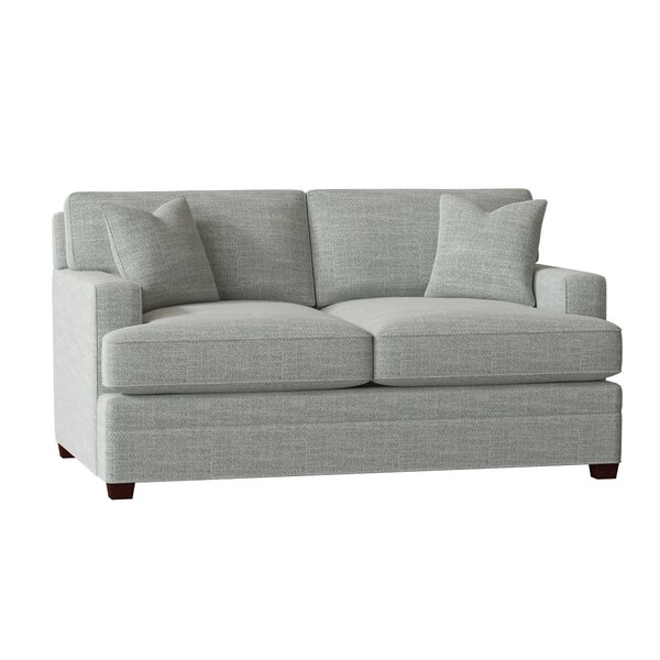 Living Your Way Track Arm Loveseat By Wayfair Custom Upholstery™