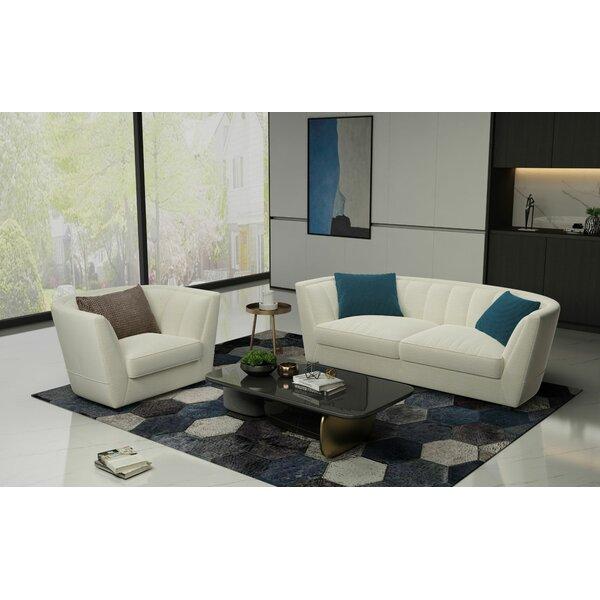 Stocksbridge 2 Piece Living Room Set by Orren Ellis Orren Ellis