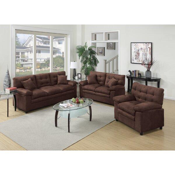 Ferranti 3 Piece Living Room Set by Red Barrel Studio