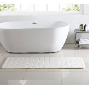 Anito Channel Stich Memory Foam Bath Rug By Orren Ellis
