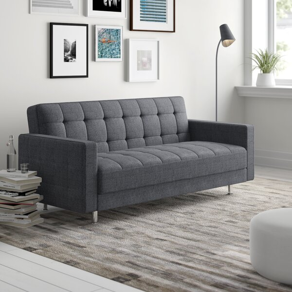 Rosina Modern Convertible Loveseat by Zipcode Design