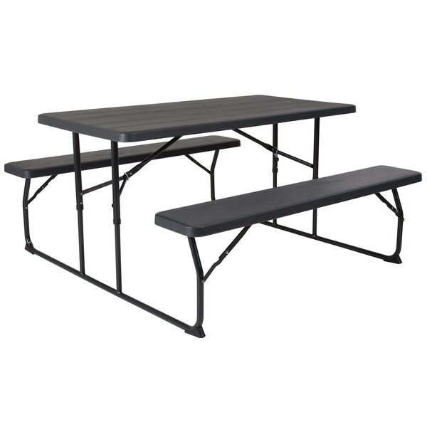 Steiner Folding Picnic Table by Freeport Park
