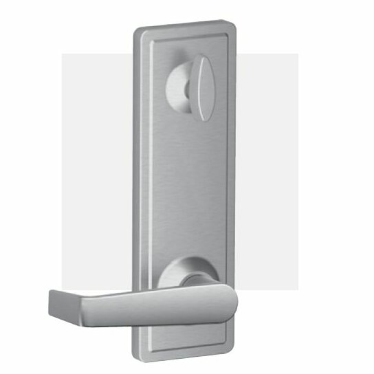 Marin Lever Hall and Closet Lock with Interconnect Keyed Deadbolt by Schlage