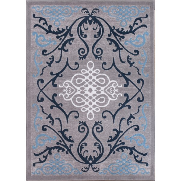 Tori Blue Area Rug by Winston Porter