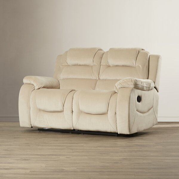 Dashing Collection Staas Dual Reclining Loveseat by Red Barrel Studio by Red Barrel Studio