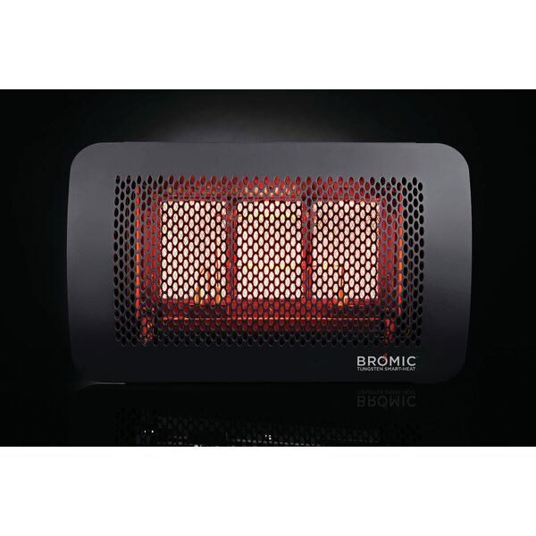Bromic Tungsten 300 Radiant 26,000 BTU Mounted Patio Heater by Bromic