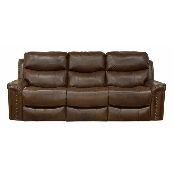 Reclining 87'' Flared Arm Sofa by Catnapper Catnapper