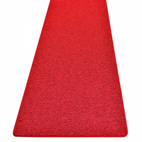 Dammann Tufted Light Red Rug Ebern Designs Rug Size: Runner