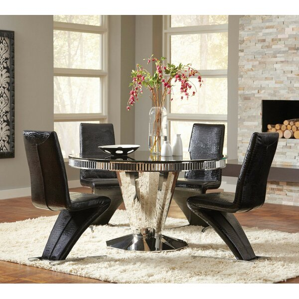 Aptos 5 Piece Dining Set by Orren Ellis