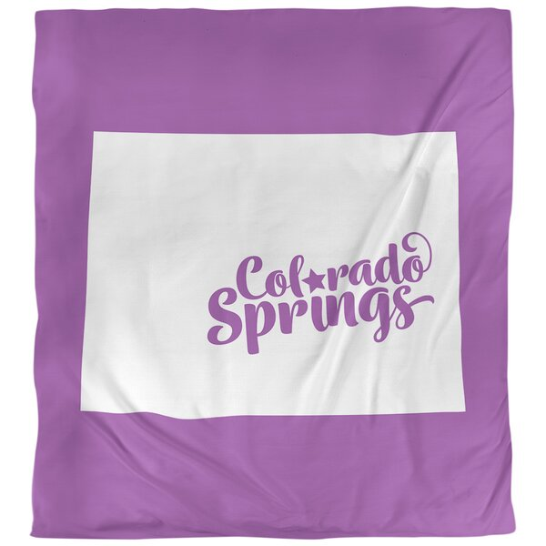 Colorado Springs Colorado Duvet Cover
