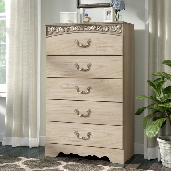 Emely 5 Drawer Chest by Ophelia & Co.
