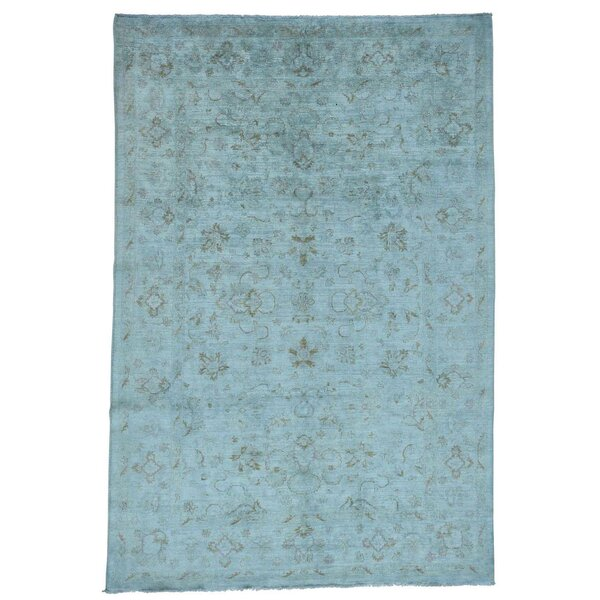One-of-a-Kind Ebersole Hand-Knotted Area Rug by Rosecliff Heights